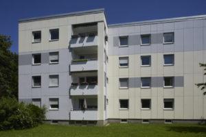 Instandsetzung beschädigter Fassadenelemente I Balkonabdichtung