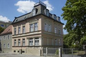Sanierung denkmalgeschützte Fassade